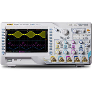RIGOL DS4034 - 350MHz, 4 CHANNEL DIGITAL OSCILLOSCOPE WITH 4GS/s Image